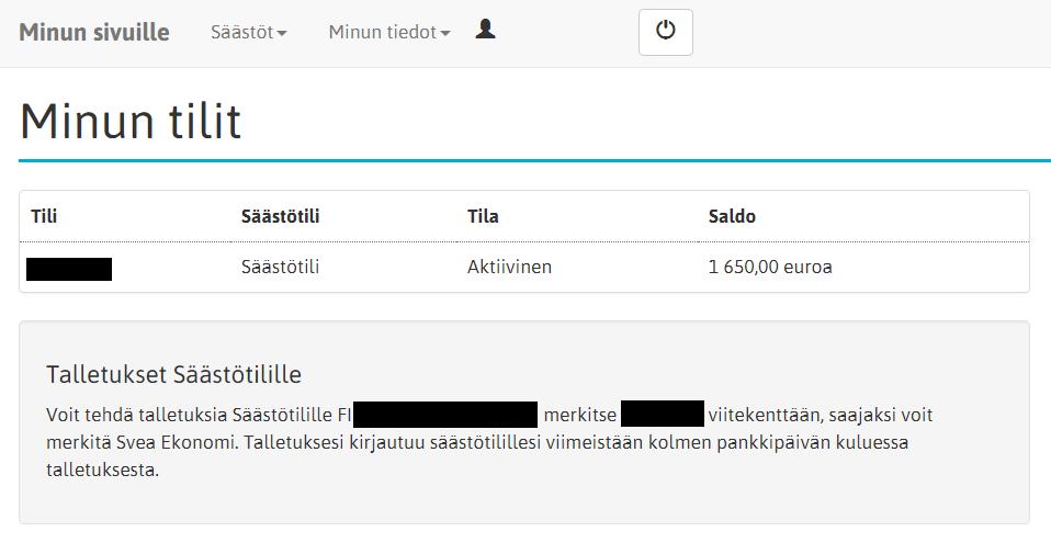 Norwegian Säästötili