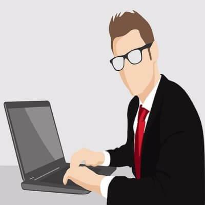 Nuori bisnesmies opiskelija blogi sijoittaminen
